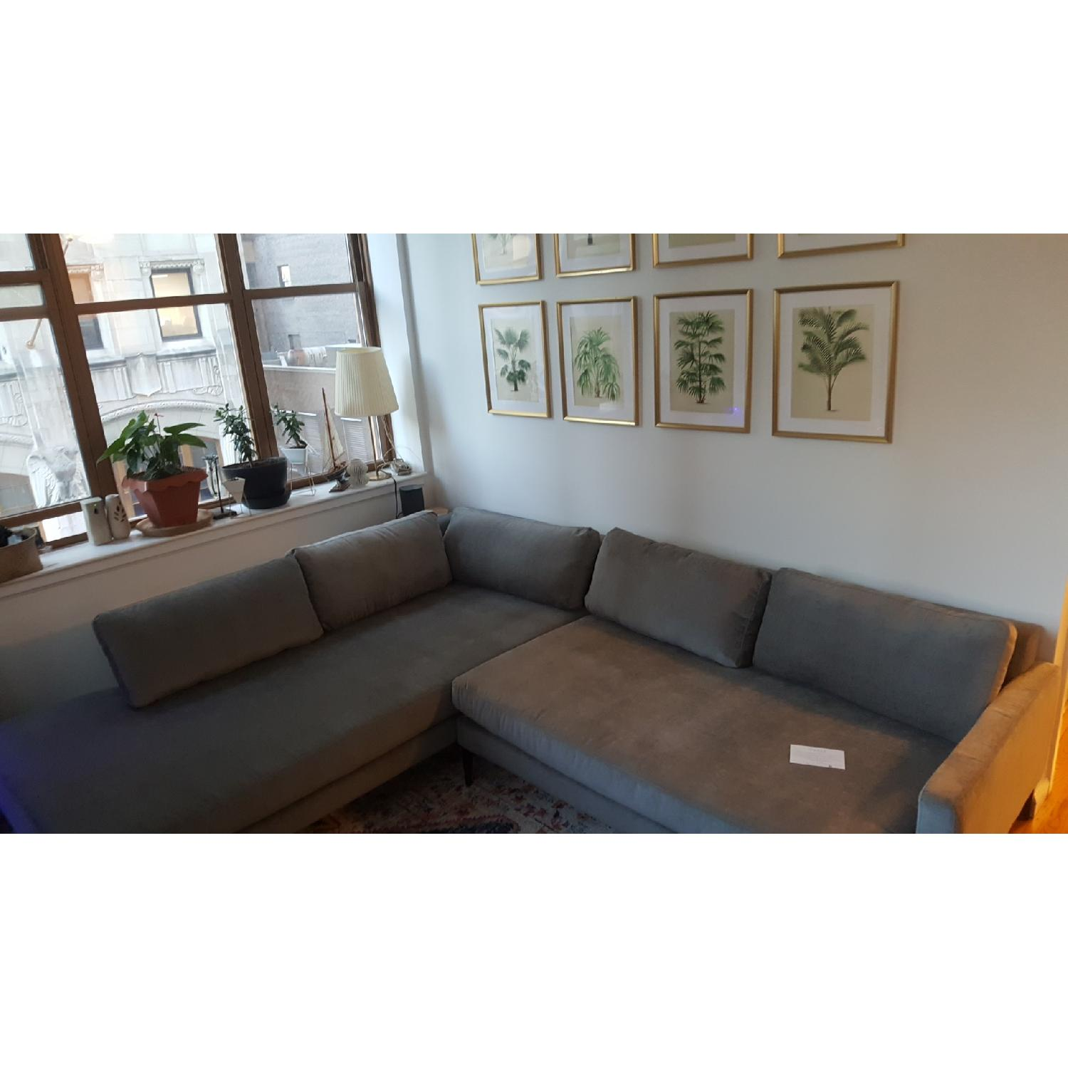 west elm andes extra deep sectional sofa w terminal chaise