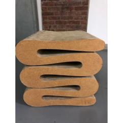 Frank Gehry Chair High Seat For Vitra Wiggle Stool Aptdeco Slide