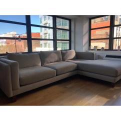 Custom Sectional Sofa Leather In Costco Reviews Room Board Holden W Right Aptdeco Chaise 0