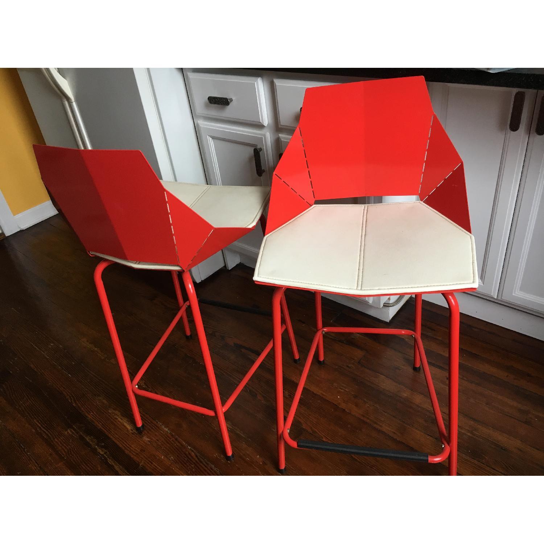 blu dot real good chair boys potty counter stools w seat pads aptdeco 0