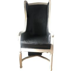 Accent Chair With Arms Wobble For Sale Custom Wing Back Arm Aptdeco Slide