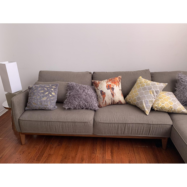 macy s jollene 2 piece sectional sofa in grey