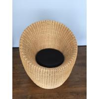 Rattan Round Chair - AptDeco