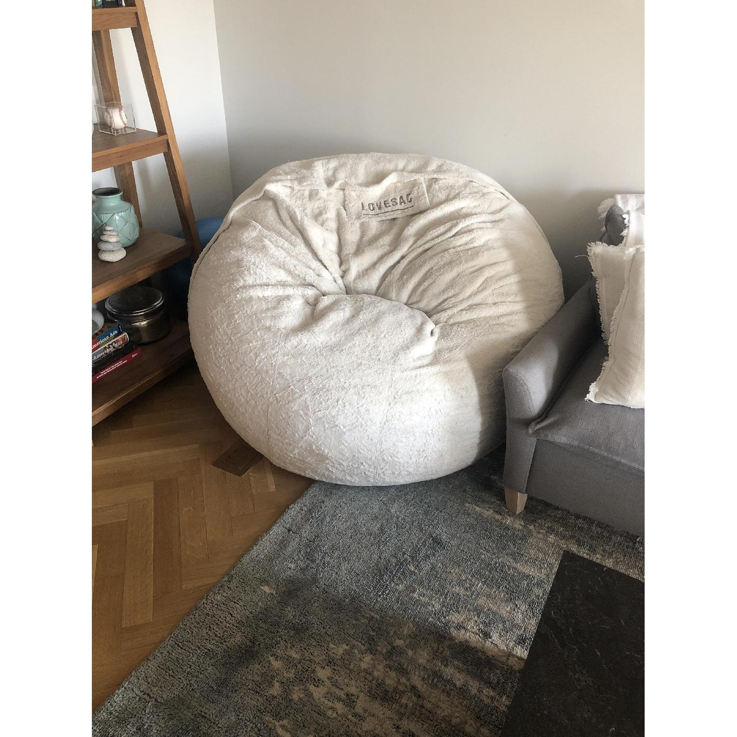Love Sac Bean Bag Chair Lovesac The Bigone Bean Bag