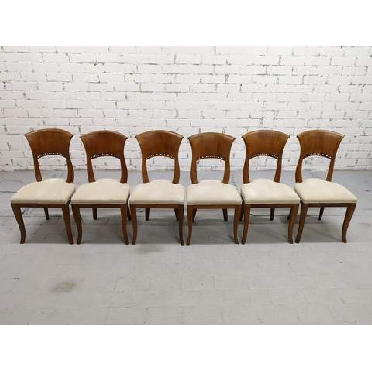 Art Deco Dining Chairs French Oak Early 20th Century Art Deco Dining Chairs