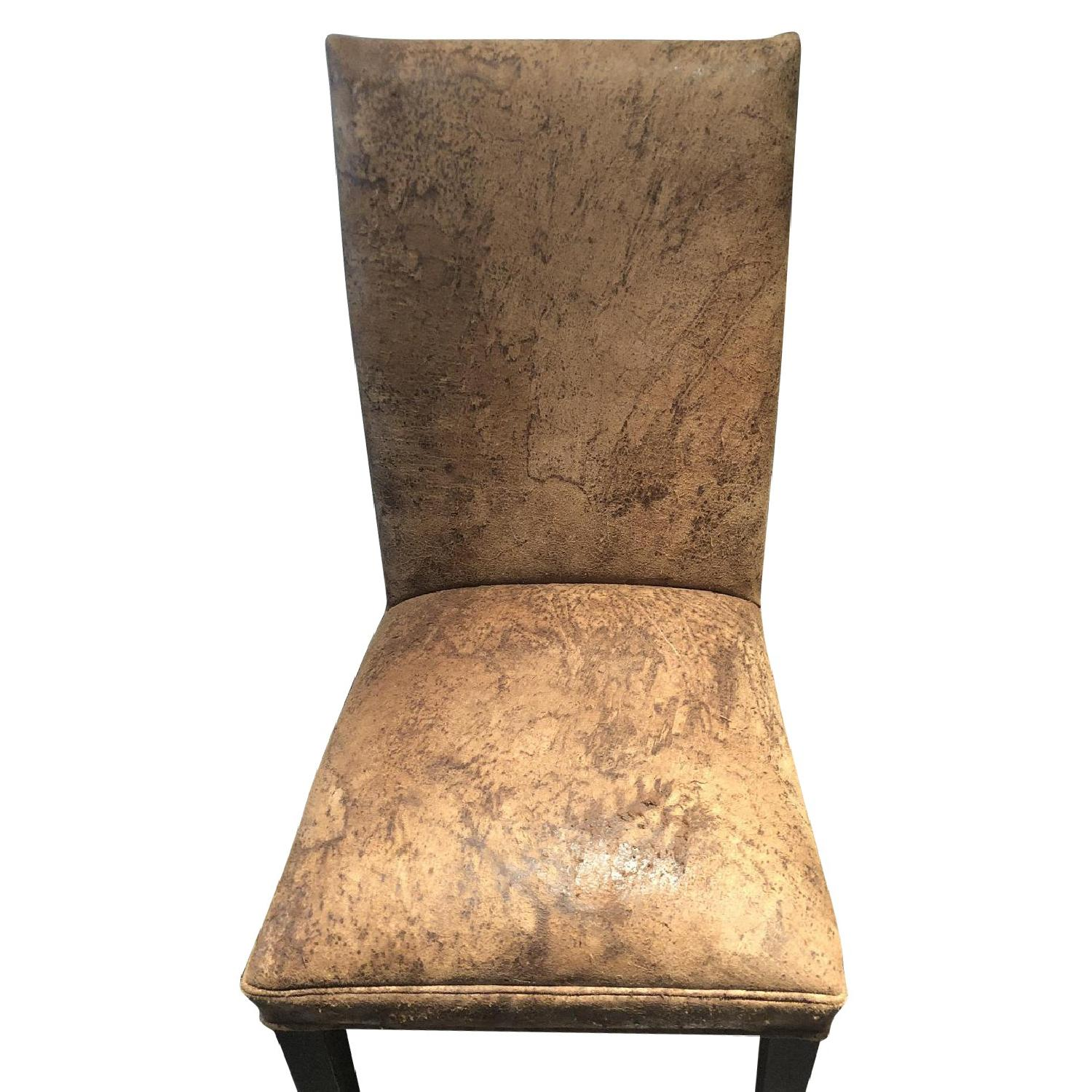 Restoration Hardware Leather Chairs Restoration Hardware Martine Collection Dining Chairs