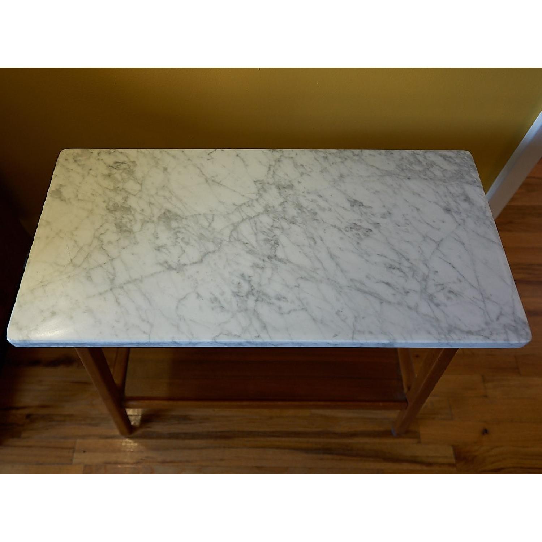 west elm reeve mid century side table