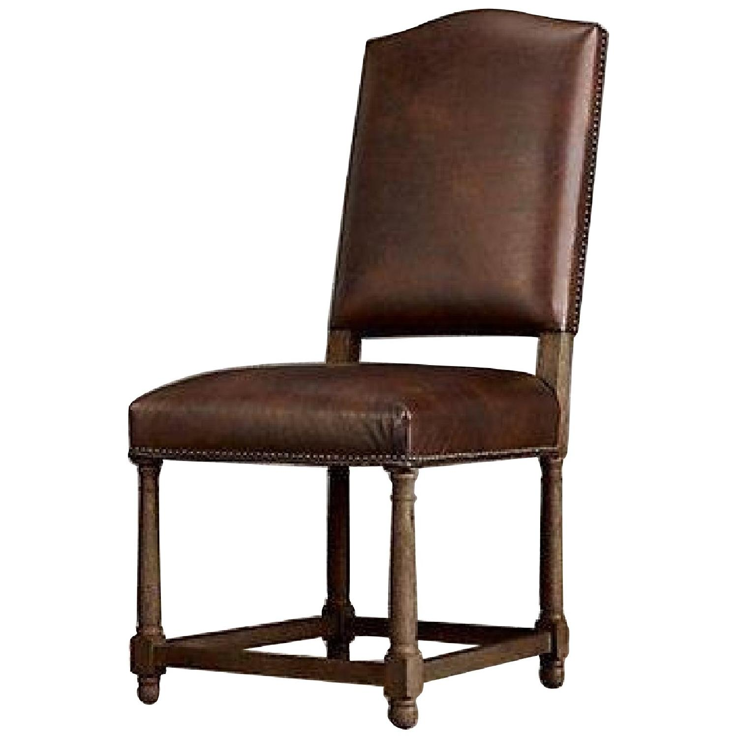 Restoration Hardware Dining Chairs Restoration Hardware Leather Dining Chairs
