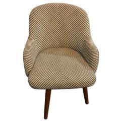 Swivel Chair West Elm Waterproof Lounge Cushions Saddle Dining Chairs Aptdeco