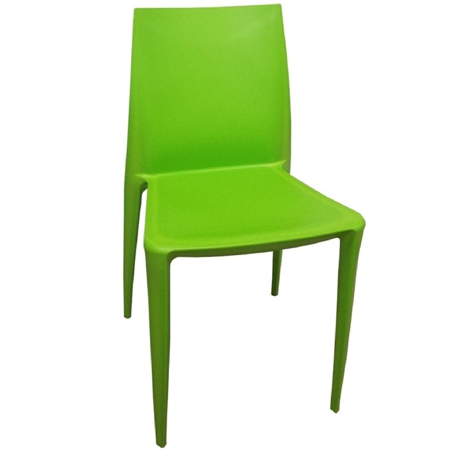 modern green dining chairs chair design youtube in molded abs aptdeco
