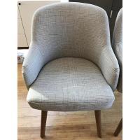 West Elm Saddle Dining Chairs - AptDeco