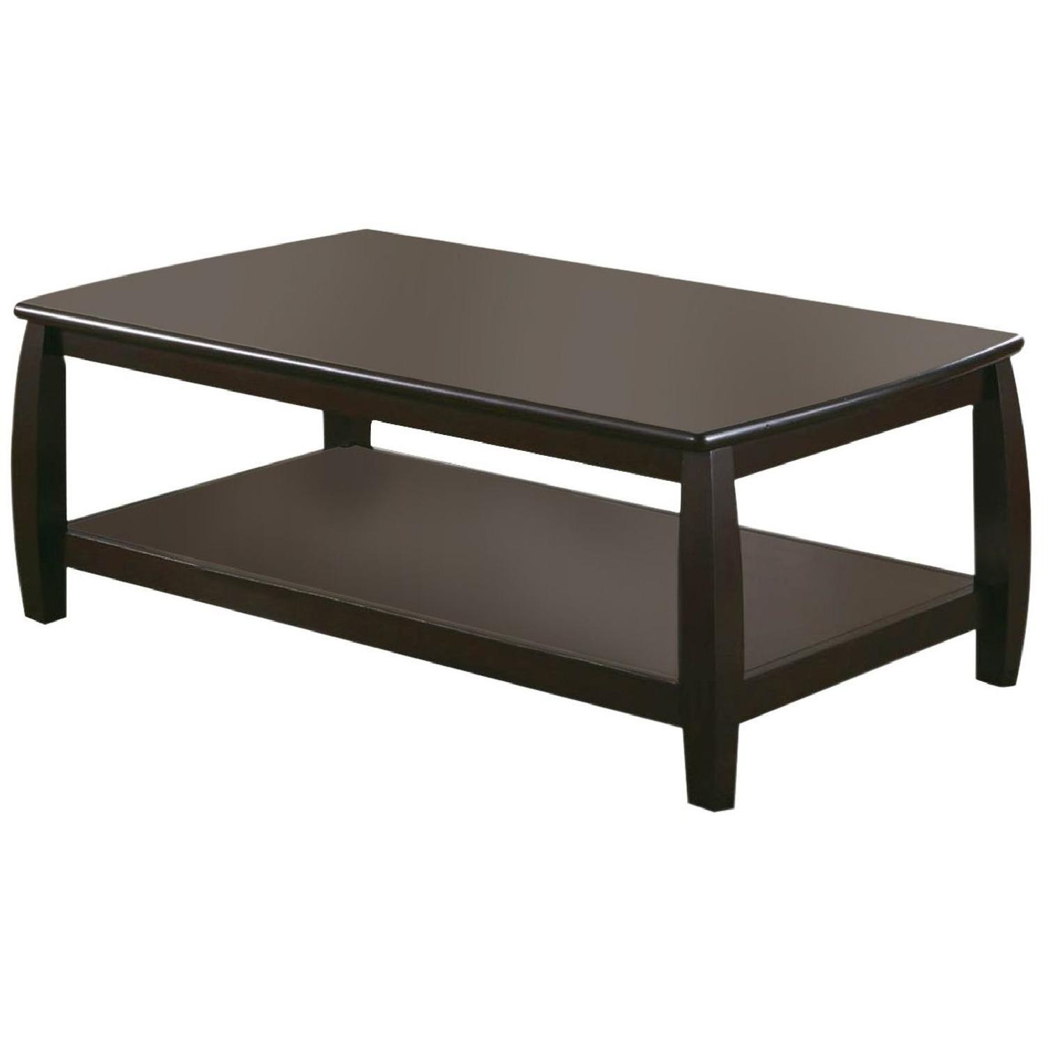 industrial style coffee table w galvanized metal top