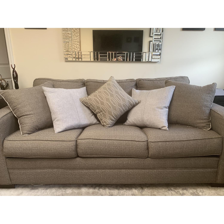 Bob S Grayson Queen Sleeper Sofa Chair Aptdeco