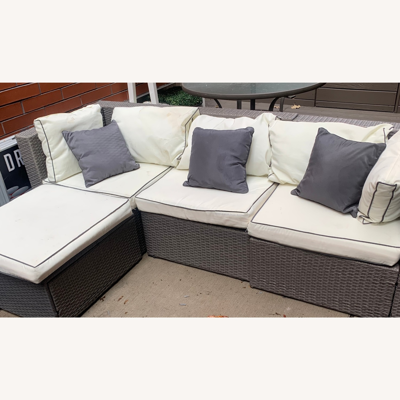 three posts burruss outdoor sectional sofa
