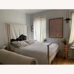 Ikea Gjora Birch Full Bed Frame Aptdeco
