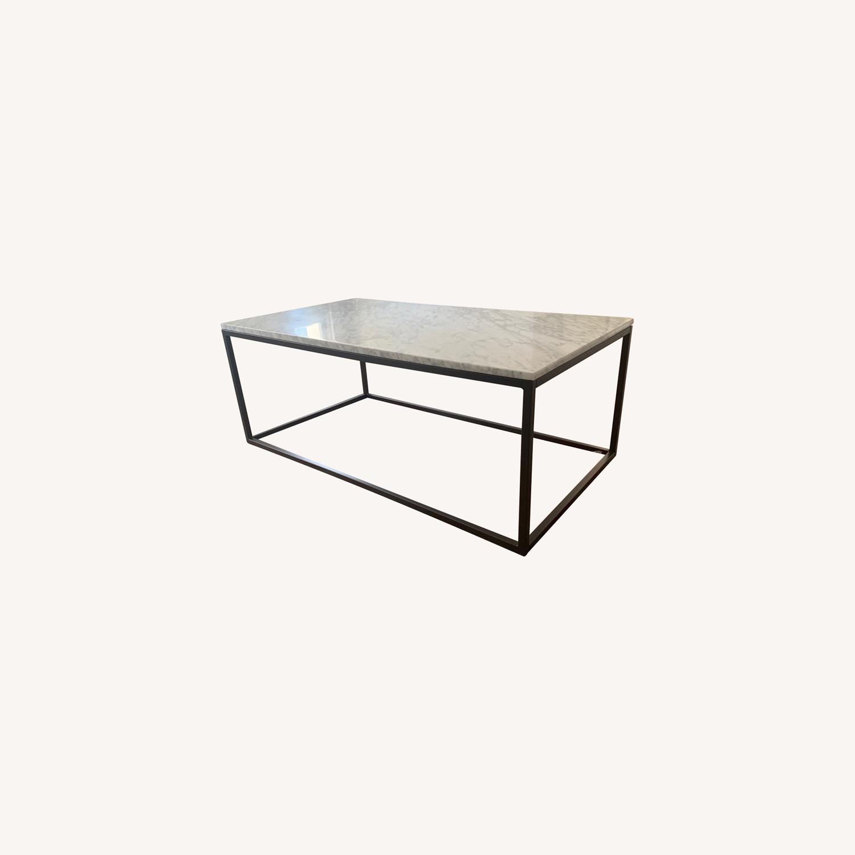 West Elm Box Frame Coffee Table Aptdeco