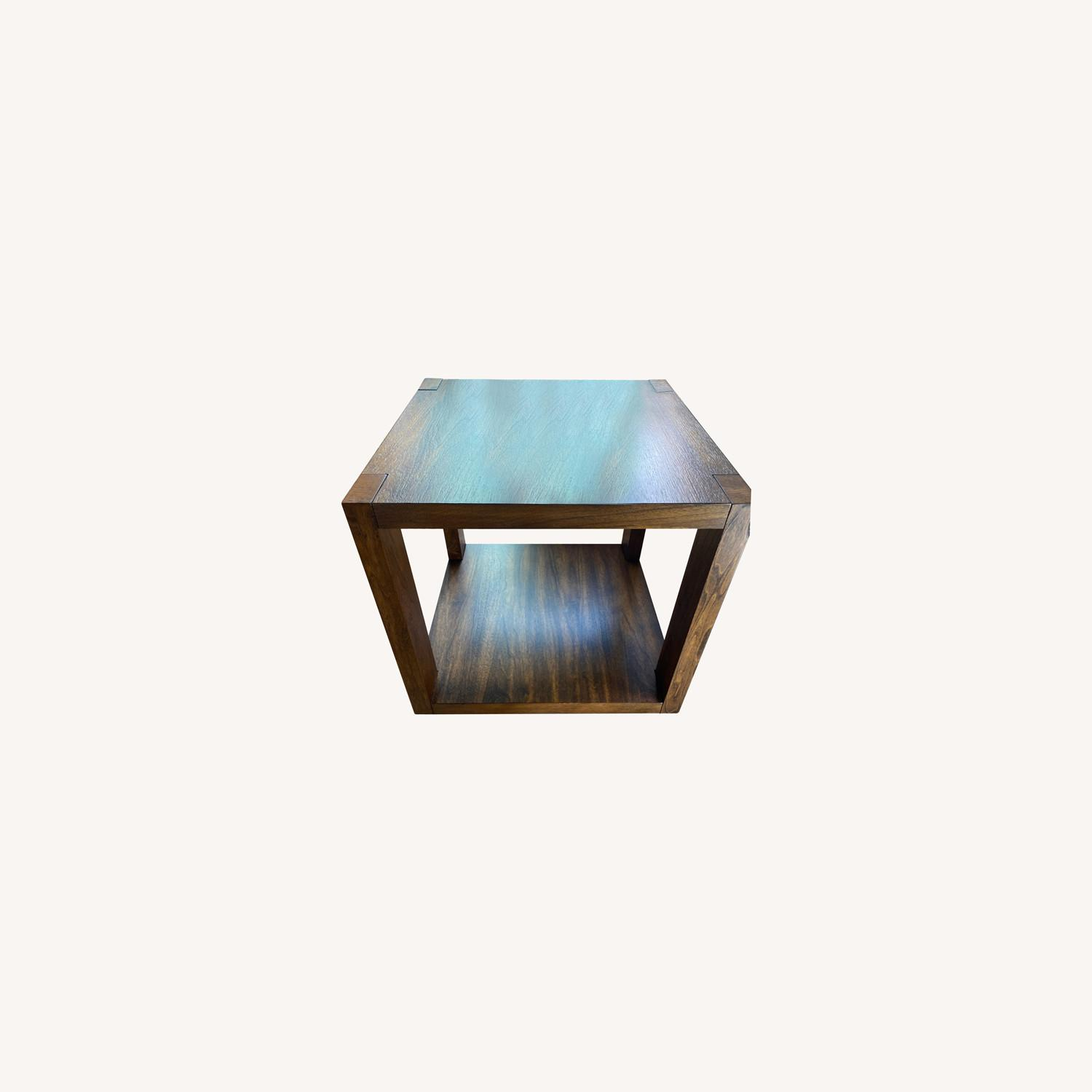 crate and barrel end tables