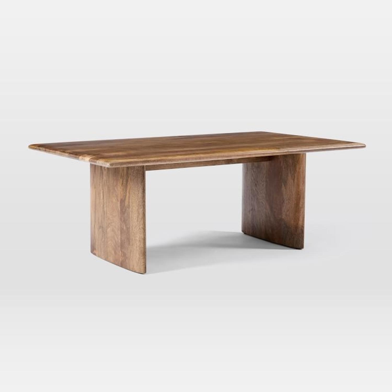 west elm anton solid wood coffee table