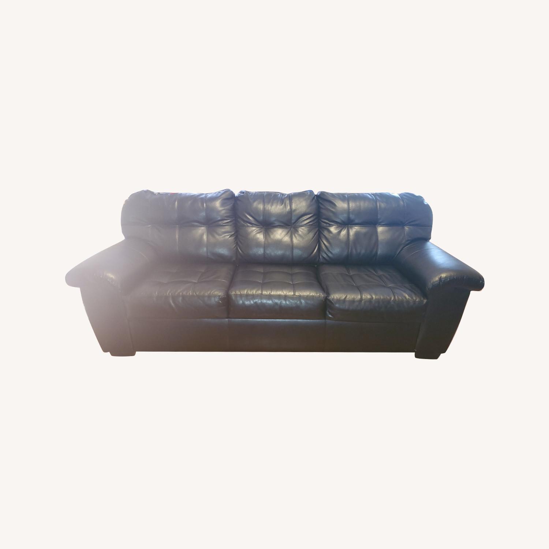 Bob S Furniture Black Sleeper Sofa Aptdeco