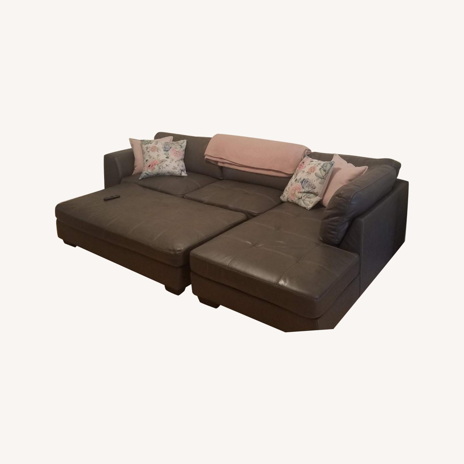 value city furniture sectional ottoman
