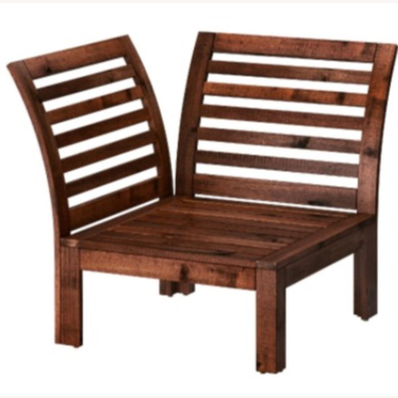 ikea applaro outdoor patio chairs w cushions