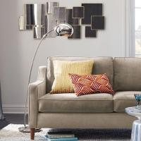 West Elm Arc Metal Floor Lamp