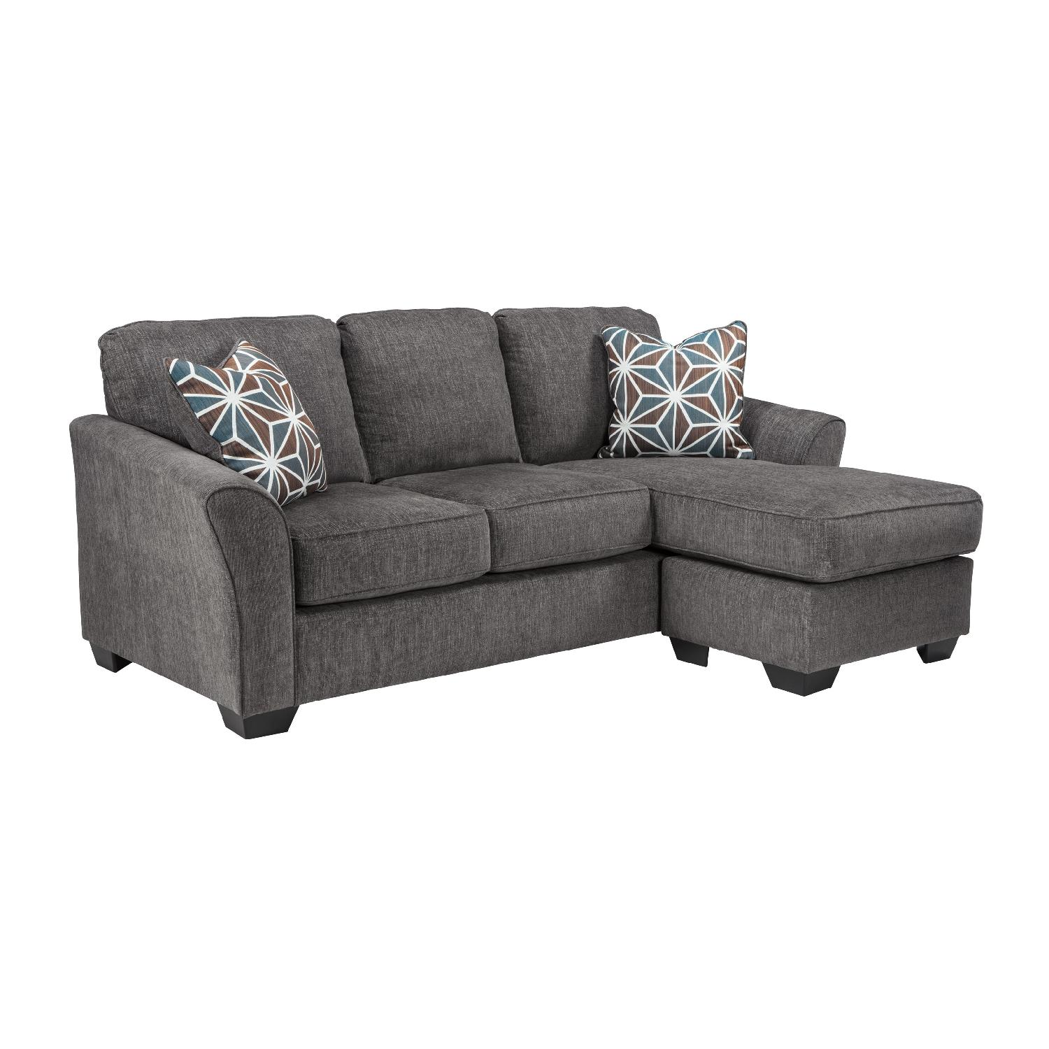 contemporary chaise sofa sure fit natural slipcover ashley 39s sectional in gray aptdeco