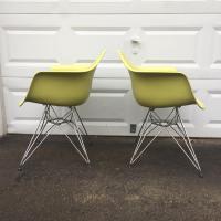 Vitra Charles Eames RAR Eiffel Chairs - AptDeco