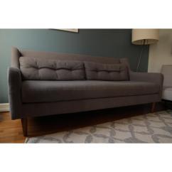 West Elm Crosby Chair Cast Aluminum Patio Parts Couch Aptdeco