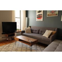 West Elm Crosby Chair Swivel Bed Couch Aptdeco
