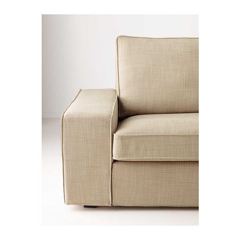 ikea kivik sofa review coaster samuel 50407 sleeper used in isunda beige for sale nyc aptdeco