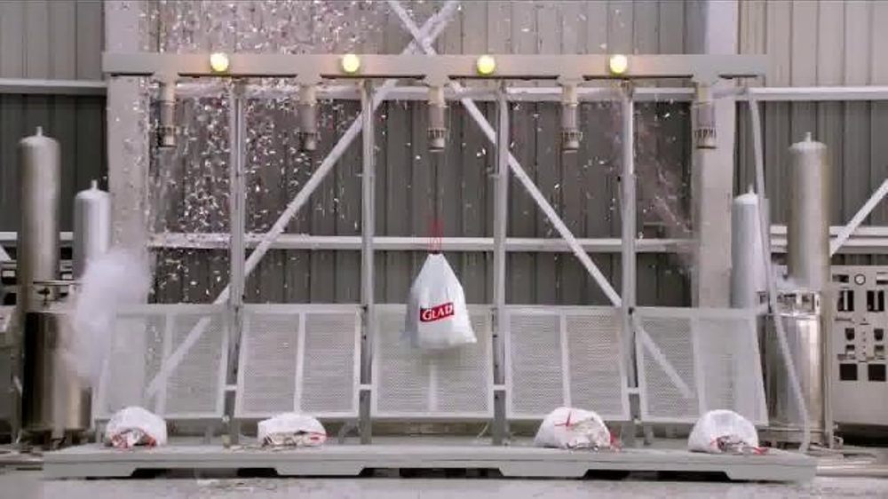 hefty tall kitchen bags home depot sink faucet glad tv commercial, 'the spill' - ispot.tv