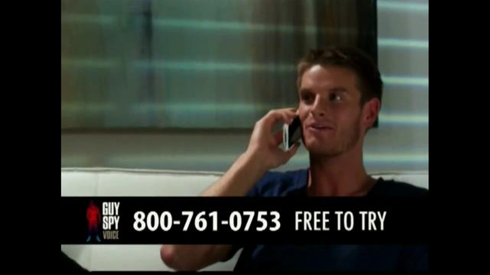 Guy Spy Voice TV Commercials  iSpottv