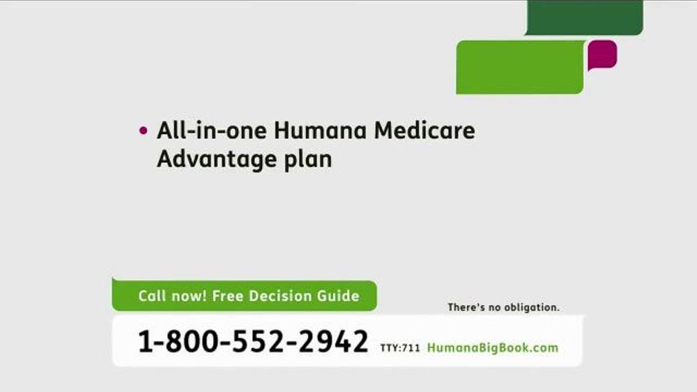 Humana Medicare Advantage Plan Tv Commercial, 'big Book