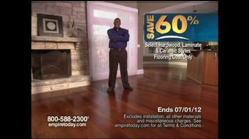 Empire Today TV Commercial for 60 Sale on Flooring  iSpottv
