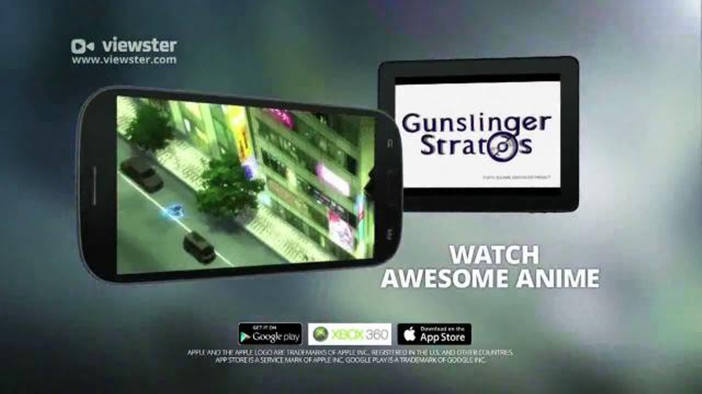 Viewster App TV Commercial Your Favorite Anime Shows