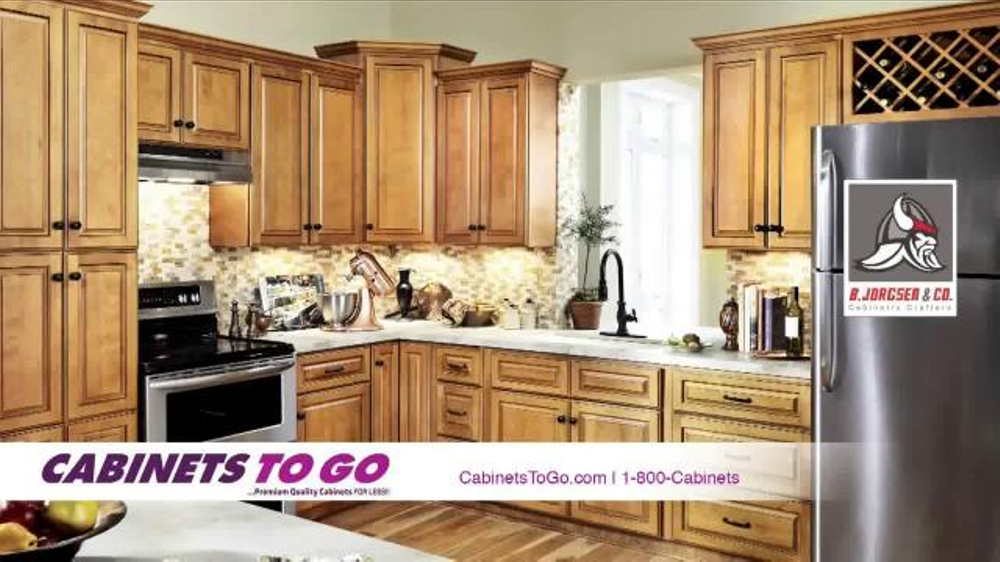 Cabinets To Go TV Commercial Make Your Dream Kitchen a