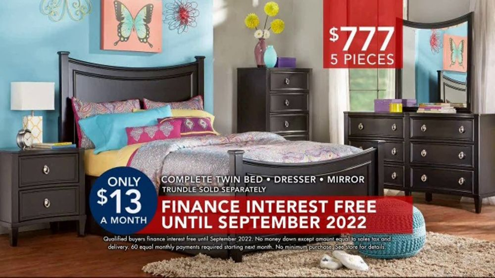 Rooms to Go Kids  Teens TV Commercial Kids Bedrooms