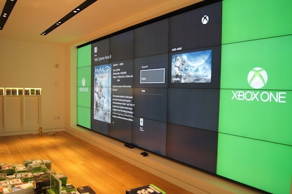 living room theater design your own furniture photos: inside roosevelt field's new microsoft retail ...