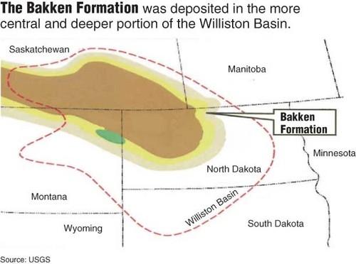 North Dakota Rig Maps Nd