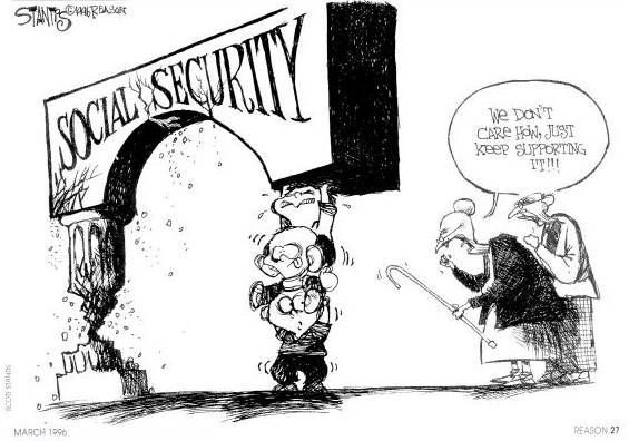 Generational Theft: Lack of Social Security Reform in 2016