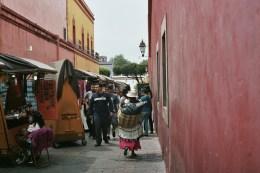 Street market in Queretaro
