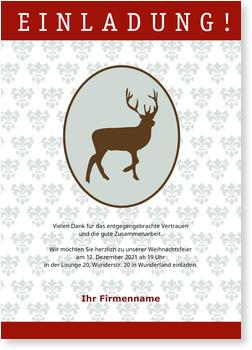 Einladung geschftliche Weihnachtsfeier  Nur jetzt mit 20 Rabatt