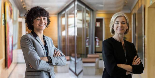 Emmanuelle Charpentier y Jennifer Doudna