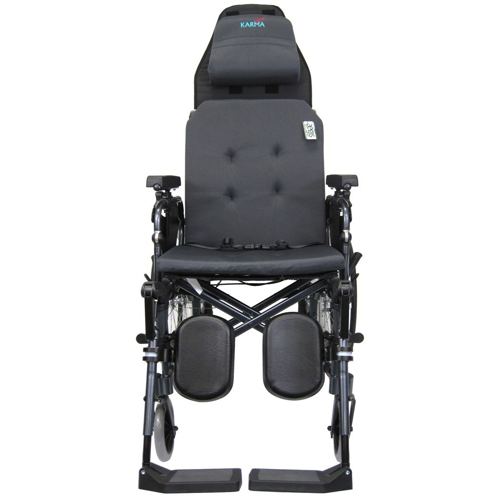 Karman MVP502MS Reclining Transport Wheelchair