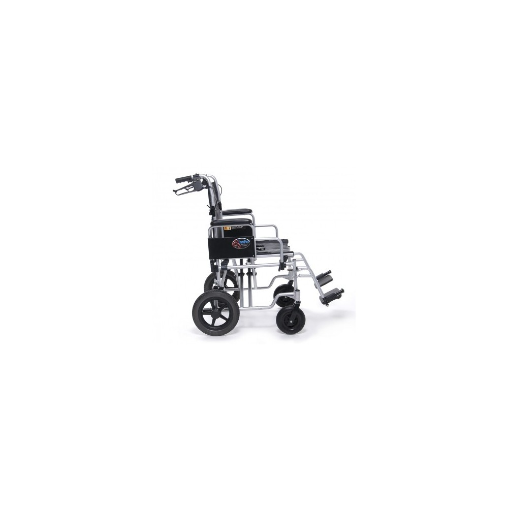 Everest & Jennings Aluminum Bariatric Transport Chair