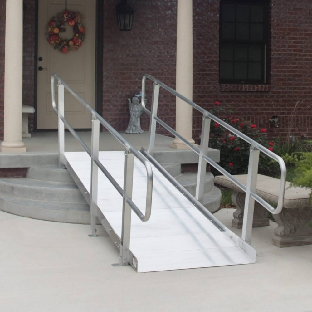 PVI OnTrac Ramp Solid with or without handrails