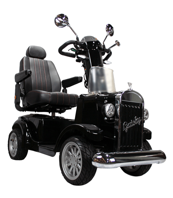 bariatric transport chair 500 lbs minnie mouse high banner gatsby x 4 wheel scooter by vintage vehicles usa - american quality health products