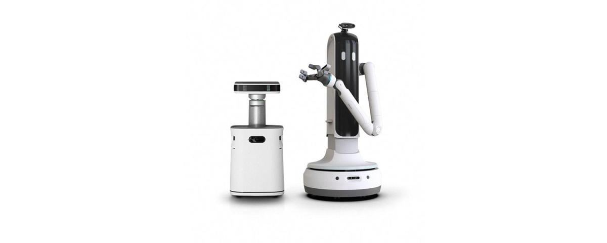 JetBot (left) and his pal Bot Handy (right). Source: Samsung.