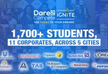 Dare2Compete IGNITE - The Spark to your Dreams! Realising one dream at a time.